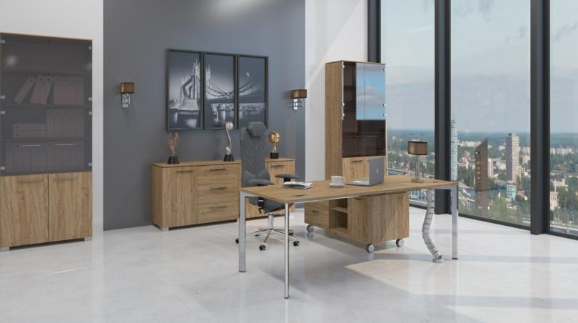кабинет руководителя мебель