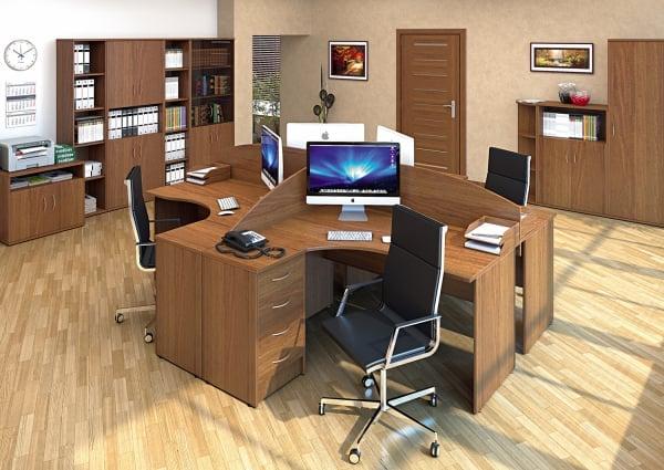 купить офисную мебель в москве недорого